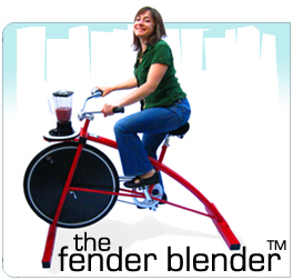 The Byerley Bicycle Blender, or B3