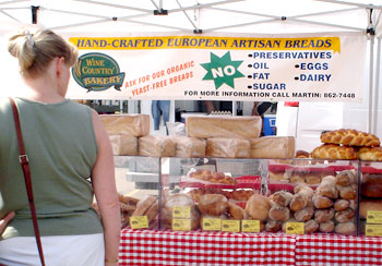Kelowna Farmers' and Crafters' Market: tasty healthy baked goods