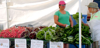 Kelowna Farmers' and Crafters' Market: fresh local produce