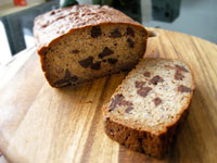Chocolate Chip Almond Banana Bread