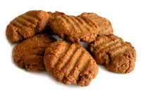 Ginger Miso Peanut Butter Cookies
