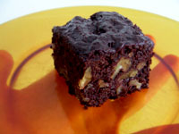 Kahlua Walnut Brownies